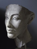 Ancient Egyptian Head of Queen Nefertiti Photographic Print