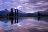 Moody Blue Scene at Spark's Lake, Bend Oregon Photographic Print by Vincent James