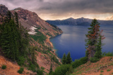 Afternoon Storm at Crater Lake, Oregon Photographic Print by Vincent James