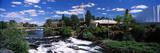 Imax Theater with Spokane Falls, Spokane, Washington State, USA Photographic Print