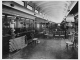 Social Hall on a Streamship Photographic Print
