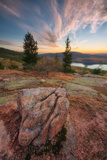 Cadillac Mountain Sunset Beauty, Acadia Photographic Print by Vincent James