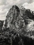 Early Carving on Mount Rushmore Photographic Print