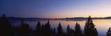 Lake at Sunset, Lake Tahoe, California, USA Photographic Print