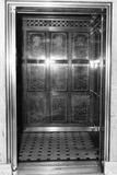 An Otis Elevator Inside a Hotel Photographie
