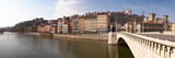 Bonaparte Bridge over the Saone River, Lyon, Rhone, Rhone-Alpes, France Photographic Print