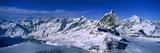 Swiss Alps from Klein Matterhorn, Switzerland Fotografisk tryk