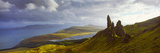 Clouds over the Old Man of Storr, Portree, Isle of Skye, Inner Hebrides, Highlands Region, Scotland Photographic Print
