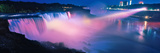 Niagara Falls at Night, Niagara River, Niagara County, New York State, USA Photographic Print