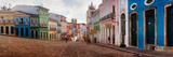 Colorful Buildings, Pelourinho, Salvador, Bahia, Brazil Photographic Print