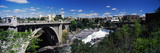 Monroe Street Bridge with City in the Background, Spokane, Washington State, USA Photographic Print