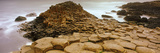 Hexagonal Rock at Giant's Causeway, Bushmills, County Antrim, Northern Ireland Photographic Print