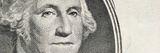 Details of George Washington's Image on the Us Dollar Bill Photographic Print