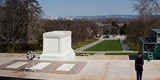 Tomb of a Soldier in a Cemetery, Arlington National Cemetery, Arlington, Virginia, USA Photographic Print