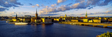 City at the Waterfront, Gamla Stan, Stockholm, Sweden Fotografisk tryk