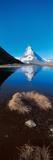 Mt Matterhorn and Riffel Lake Switzerland Photographic Print