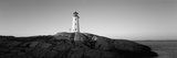 Lighthouse at the Coast, Peggy's Point Lighthouse, Peggy's Cove, Halifax Regional Municipality Photographic Print