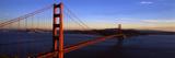 Suspension Bridge across the Sea, Golden Gate Bridge, San Francisco, California, USA Photographic Print