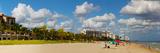 Tourists on the Beach, Lauderdale, Florida, USA Photographic Print