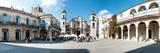 Facade of a Cathedral, Plaza De La Catedral, Old Havana, Havana, Cuba - Fotografik Baskı
