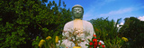 Low Angle View of a Buddha Statue, Lahaina Jodo Mission, Maui, Hawaii, USA Photographic Print