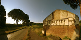 Tombs and Umbrella Pines Along the Via Appia Antica, Rome, Lazio, Italy Photographic Print