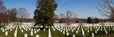 Headstones in a Cemetery, Arlington National Cemetery, Arlington, Virginia, USA Photographic Print