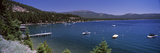 Boats in a Lake with Mountains in the Background, Lake Tahoe, California, USA Photographic Print