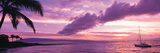 Sunset Kapala Bay Maui Hi USA Photographic Print