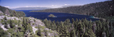 High Angle View of a Lake with Mountains in the Background, Lake Tahoe, California, USA Photographic Print