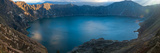 Lake Surrounded by Mountains, Quilotoa, Andes, Cotopaxi Province, Ecuador Photographic Print