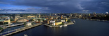 High Angle View of a City at Waterfront, Gamla Stan, Stockholm, Sweden Photographic Print