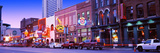 Street Scene at Dusk, Nashville, Tennessee, USA Photographic Print