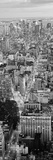 Aerial View of Buildings in a City, Manhattan, New York City, New York State, USA Photographic Print