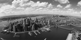 Aerial View of Buildings in a City, New York City, New York State, USA Photographic Print