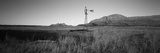Solitary Windmill in a Field, U.S. Route 89, Utah, USA Photographic Print