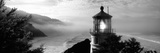 Lighthouse on a Hill, Heceta Head Lighthouse, Heceta Head, Lane County, Oregon, USA - Fotografik Baskı