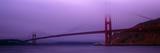 Suspension Bridge across the Sea, Golden Gate Bridge, San Francisco, Marin County, California, USA Photographic Print