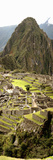 High Angle View of an Archaeological Site, Machu Picchu, Cusco Region, Peru Fotografie-Druck