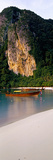 Longtail Boat in Ton Sai Bay, Phi Phi Don, Thailand Photographic Print