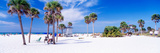 Palm Trees on the Beach, Siesta Key, Gulf of Mexico, Florida, USA Photographic Print