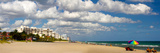 Tourists on the Beach, Lauderdale, Florida, USA Photographic Print