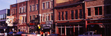 Buildings Along a Street, Nashville, Tennessee, USA Photographic Print