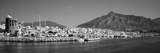 Boats at a Harbor, Puerto Banus, Marbella, Costa Del Sol, Andalusia, Spain Photographic Print