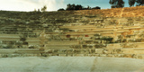 Ancient Antique Theater in Kas at Sunset, Antalya Province, Turkey Photographic Print