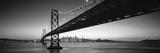 Bay Bridge San Francisco Ca USA Fotografie-Druck