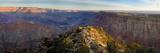 High Angle View of Desert Point, South Rim, Grand Canyon, Grand Canyon National Park, Arizona, USA Photographic Print