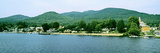 View from the Minne Ha Ha Steamboat, Lake George, New York State, USA Photographic Print