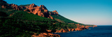 Red Rocks in the Late Afternoon Summer Light at Coast, Esterel Massif, French Riviera Photographic Print