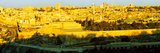 High Angle View of a City, Jerusalem, Israel Photographic Print